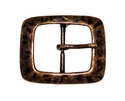 CX-08 Antique Copper Center Bar Belt Buckle