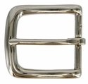 "CX-160 32mm NP Nickel Heel Bar Buckle 1-1/4"" Wide"