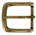 "CX-160 38mm OEB Brass Heel Bar Buckle 1 1/2"" Wide"
