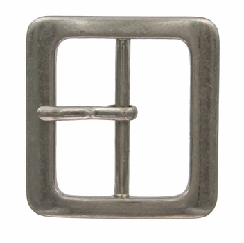 "CX 527 1-5/8"" Wide Center Bar Belt Buckle"