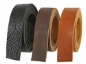 "Double Bends Full Grain Cowhide Strips 4.5mm (3/16"" thick)"