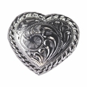 "F9524A-7 SP 1-1/4"" Heart Concho"