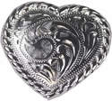 "F9524A-9 SP 1-1/2"" Heart Concho"