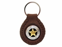 F9704 SRTPGP Star Concho Key Fob Ring