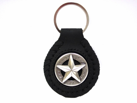 F9951 SRTP Star Concho Key Fob Ring