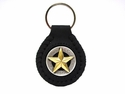 F9951 SRTPGP Star Concho Key Fob Ring