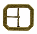"FCB14-ANB Brass Belt Buckle 1-1/2""(38mm) Wide"