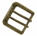 "FCB16-ANB Brass Roller Belt Buckle fit's 1-1/2"" (38mm) Wide"