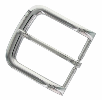 "FCB6-NP Shiny Silver Belt Buckle fit's 1-1/2"" (38mm) wide"