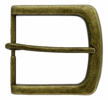 FCB1-OEB Brass 40mm Heel Bar Buckle