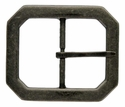 FCB14-ANR Antique Silver 38mm Center Bar Buckle