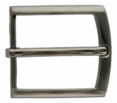 FCB9-NP Nickel 35mm Heel Bar Buckle