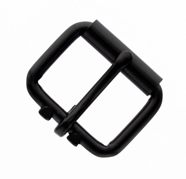 "GL Roller Buckle 1-1/2"" Wide - Black"