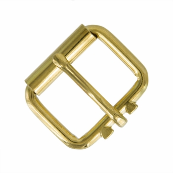 "GL Roller Buckle 1-1/2"" Wide - Gold Plated"