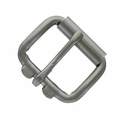 "GL Roller Buckle 2"" Wide Gun metal"