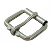 "GL Roller Buckle 1-1/4"" Wide - Nickle Plated"