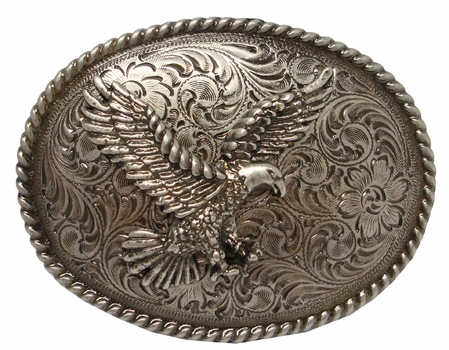 H8170 ANR American Eagle Western Belt Buckle