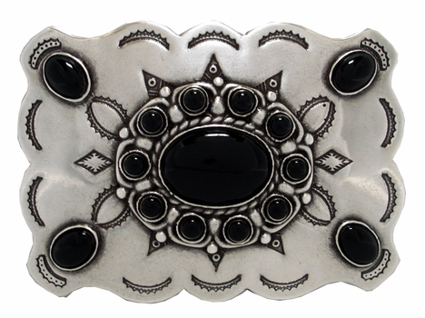 HA0031-1 Black Belt Buckle