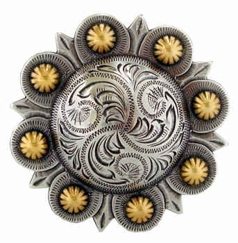 HA1687 ASAG Berry Belt Buckle 3""