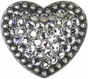Heart Diamond Concho