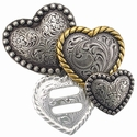 Heart Shape Conchos