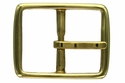 JT-3318 Solid Brass Belt Buckle 1 1/8""