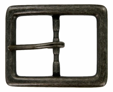 JT-4063-40 Z/ANR/NF Antique Nickel Plated Center Bar Buckle