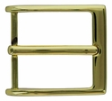 JT10699-GP Gold Plate 40mm Heel Bar Buckle