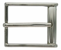 "JT8478-35 Nickel Heel Bar Buckle 35mm (1 3/8"")"