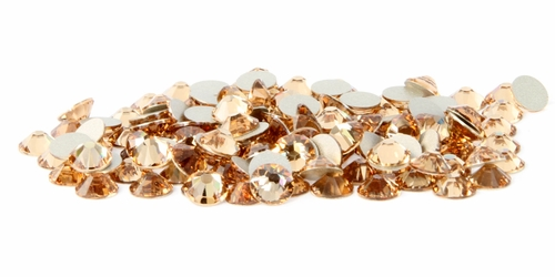 Light Peach  Flatback Rhinestones
