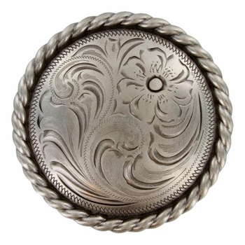 """LL-1789 OS 4-1/4"""" Round Rope Concho"""