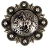 "LL-2068 OS 1.5"" Mounted Cowboy Shooter Conchos"