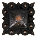 "LL-2661 RCS Square Berry Concho 2"" Rust Copper"