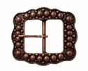 "LL-2675  Copper Berry Belt buckle 1 1/2"" (38mm)"