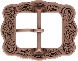 "LL-3420 Copper Berry Cart Buckle 1"" (25mm)"