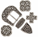 Matching Celtic Knot Buckle Sets and Conchos Collection