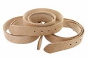 "Natural Cowhide Leather Belt Blanks with Adjustment Holes 8-9-oz (3.5mm-4.0mm) Size 50""+ Long"