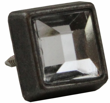 "NB-20553 OS Dark Silver Diamond Stud 3/8"" 10/Pack"