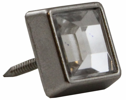 "NB-20553 Nickel Diamond Stud 3/8"" 10/Pack"