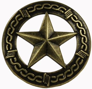"NB-906 Brass Bronze Star Upholstery Tack 1"" 10/Pack"