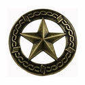"NB-907 Brass Bronze Star Upholstery Tack 3/4"" 10/Pack"
