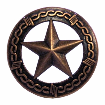 """NB-907 Copper Star Upholstery Tack 3/4"""" 10/Pack"""
