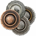 New! Center Rope Conchos