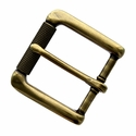 "P4139 Antique Brass Roller Belt Buckle fit's 1-3/8"" (35mm)"