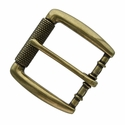"P4252 Antique Brass Roller Belt Buckle fit's 1-1/2"" (38mm)"