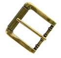 "P4317-11 Antique Brass Roller Belt Buckle fit's 1-1/2"" (38mm)"