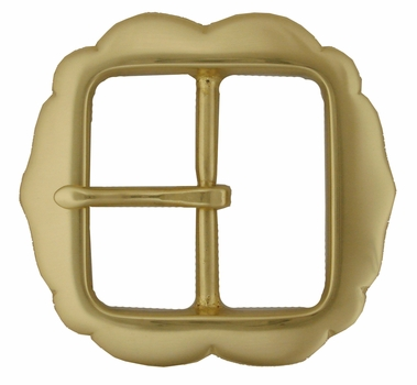 PC2277 Polished Solid Brass Belt Buckle
