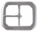 PC3795-5 NP Polished Nickle Finish Belt Buckle 1 1/2""