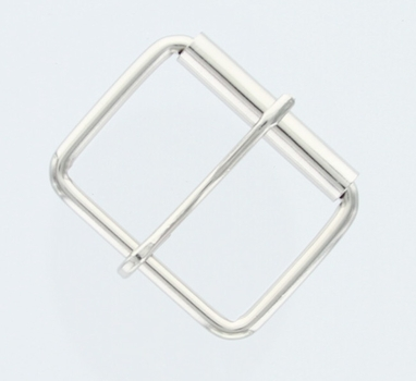 "Roller Buckle 1-1/2"" Wide - Nickle Plated"
