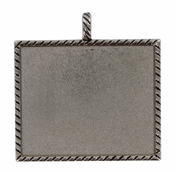S-145 NP Nickle Plate Picture Holder Frames Pendants